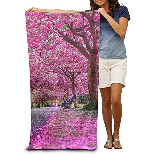Niet van toepassing strandhanddoek stoel onder de kersenboom badpak bad en douche handdoek strand deken voor vrouwen & mannen, meisjes & jongens 32 x 52 inch
