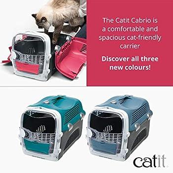 Cat it Catit Cabrio de Transport Rouge Cerise