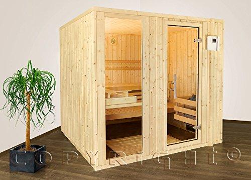 Sauna Classic tipo 2nordico abete 39mm in legno massiccio