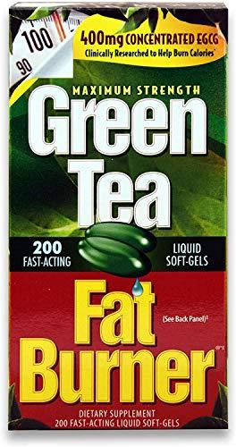 Green Tea Fat Burner Dietary Supplement 200 Soft gels