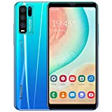 basic android smartphones, 5.5 inch quad-core 4gb cell phones, dual sim mobile phone, dual cameras, bluetooth, gps, wifi (blu)