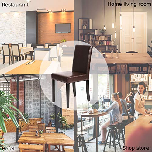 Dining Chairs Dining Room Chairs Parsons Chair Kitchen Chairs Set of 4 Dining Chairs Side Chairs for Home Kitchen Living Room