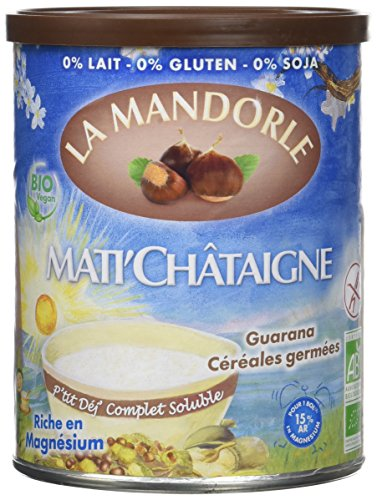 La Mandorle Mati'Châtaigne 400 g - Lot de 2 - Bio