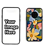WIILGN Huawei Mate 30 Personalized Custom Own Phone Case Name Picture Print Case Flexible TPU Soft Protective Metal Back Cover Birthday Xmas Valentines Gift