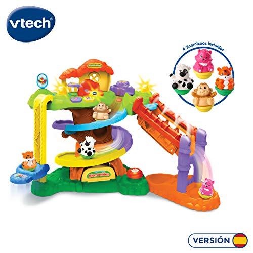 Vtech-LA ARBOL Kabel + 4 Zoomizooz Mini Sequins, Sammler, Farbe (3480-510922)