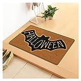 Halloween Bienvenido Doormat, alfombras de alfombras...