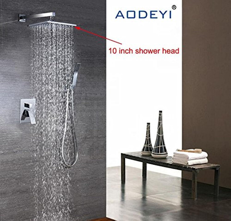 Luxurious shower 8 - - - 10 Zoll Duschkopf Luxus an der Wand ...