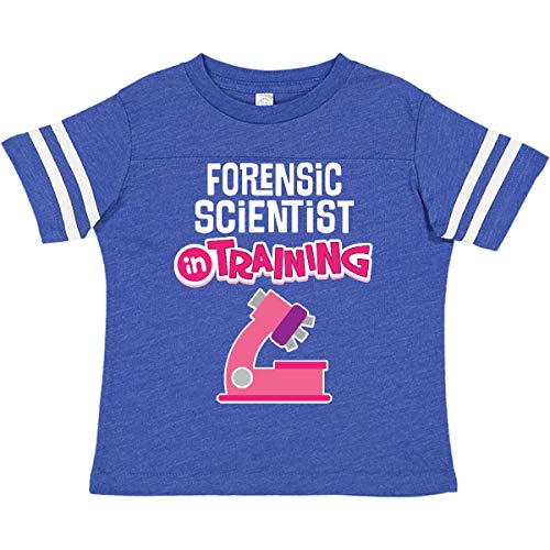 inktastic Future Forensic Toddler T-Shirt 4T Football Blue and White 2e00b