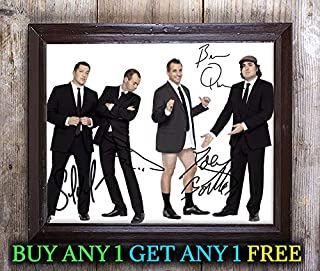 Impractical Jokers Tv Show Cast Autographed Signed 8x10 Photo Reprint #35 Special Unique Gifts Ideas Him Her Best Friends Birthday Christmas Xmas Valentines Anniversary Fathers Mothers Day