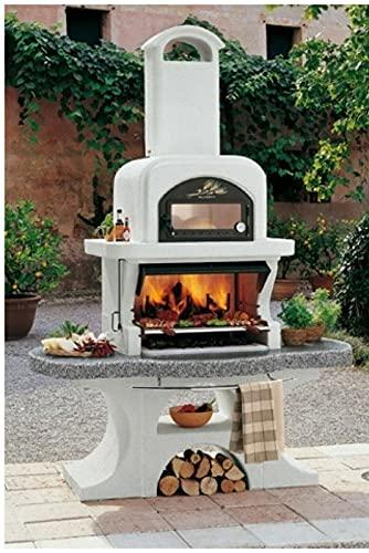 PALAZZETTI Barbecue a Legna carbonella Capri 2 con Forno