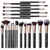 Anjou Makeup Brush Set, 24pcs Premium Cosmetic Brushes for Foundation Blending Blush Concealer