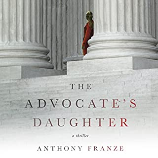 The Advocate's Daughter audiobook cover art