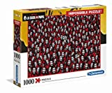 Clementoni- Puzzle 1000 Piezas Impossible La Casa de Papel (39527.9)