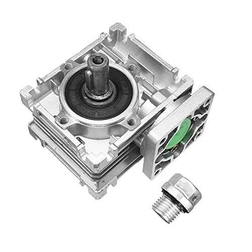 ChaRLes Worm Gear Reductor De Velocidad Del Motor Ratio 10/15/20/25/30/40/50/60/80:1 Para Nema23-030 - 30:1