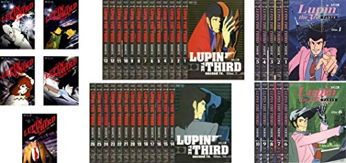 Lupin the 3rd LUPIN THE THIRD TV series first all 5 volumes second all 26 volumes PART3 all 10 volumes [rental omission] all 41 volumes set [Marketplace DVD set products]