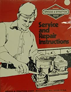 Briggs & Stratton Service and Repair Instructions