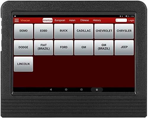 X431 V + OBDII Auto-Diagnose-Tool mit Vollsystem, ECU-Kodierung, Aktivierung Test, 11 Sonderfunktionen, Wi-Fi/Bluetooth Android 7.1 Pad mit 2 Jahre kostenlose Updates