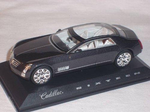 Norev Cadilac Sixteen 16 Dunkel Grau Schwarz 1/43 Modell Auto Modellauto Sonderangebot