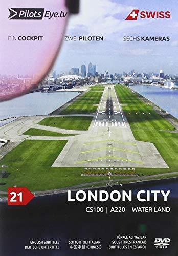 PilotsEYE.tv I LONDON CITY I Cockpit Mitflug CS100/A220 I SWISS I 'Water Land' I Bonus: 747SP Pratt testing facility