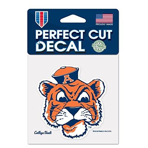 WinCraft Auburn Tigers Official NCAA 4 inch x 4 inch Die Cut Car Decal