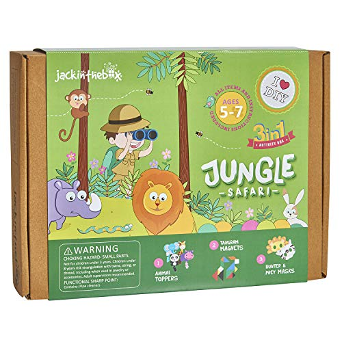 jackinthebox Jungle Themed Art and Craft...