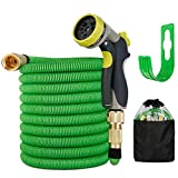 Expandable Garden Hose 15M/50FT , Leak Proof Garden Water Hose with 9 Function
