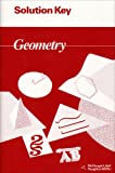 Solution Key Geometry (McDougal Littell Jurgensen Geometry) - McDougal Littel