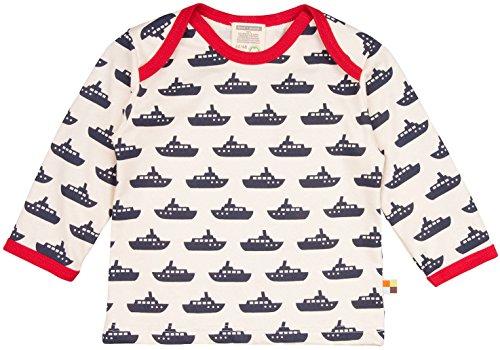 loud + proud loud + proud Unisex Baby T-Shirt, Druck, Blau (Navy-Schiff Ny-Sc), 80