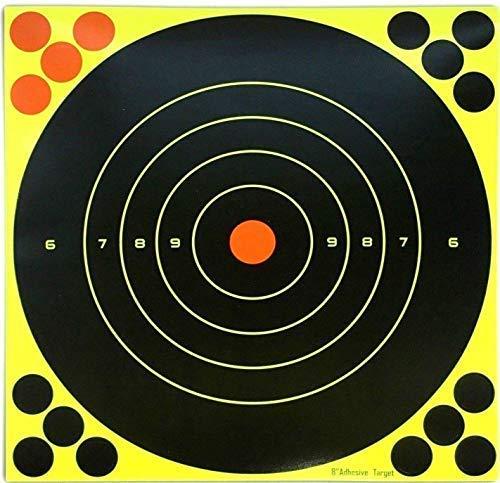 Your Viste Reattivo da Tiro Bersagli/Confezione da 50 8″ Pollici 20cm Aria Fucile & Pistola Splatter Bersagli