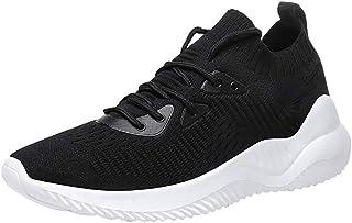 Zapatillas Deportivas de Mujer Gimnasio Zapatos Running Deportivos Aumentar Más Altos Sneakers Fitness Correr Casual Ligero Comodos Transpirable Respirable Antideslizante Primavera/Verano 2019