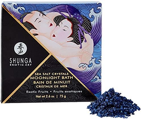 Shunga, Crystal Bath Salt, Blau