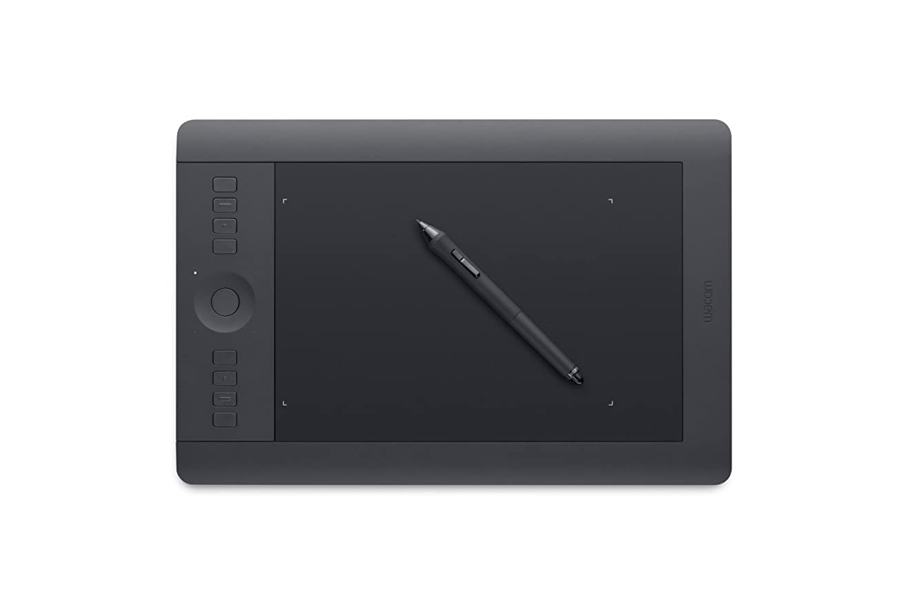 ホイールブロックするエピソードWacom Intuos Pro Pen and Touch Tablet, Medium (PTH651) [並行輸入品]