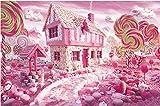 Puzzles 3D Puzzles De Madera Rompecabezas De 500 Piezas Imprimir Candy House Toys Juego Rompecabezas Para Adultos Niños Rompecabezas De Madera Para Adultos Regalo De Cumpleaños 3D. (Tamaño Terminado