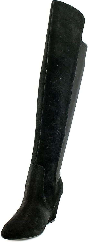Charles D Edie Edie Edie Kvinnor USA 5 svart Över Knee Boot  ny sadie