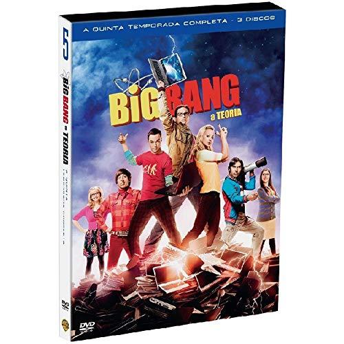 DVD - The Big Bang Theory - 5ª Temporada Completa - 3 Discos