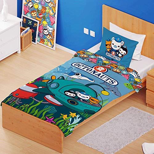 Octonauts Bettdeckenbezug und Kissenbezug, 50% Polyester, Mehrfarbig