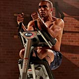 AbCoaster MAX Ab Machine Exercise Equipment For Home Gym, Less Stress on Neck & Back, Abdominal /...