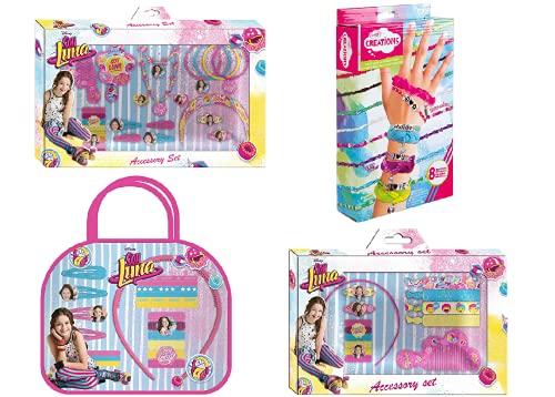 PLACES Juego de accesorios para el pelo Soy Luna con kit de pulseras de regalo