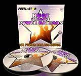 Vocal-Star Power Ballads Karaoke CDG CD+G Disc Set 40 Songs - 2 Discs