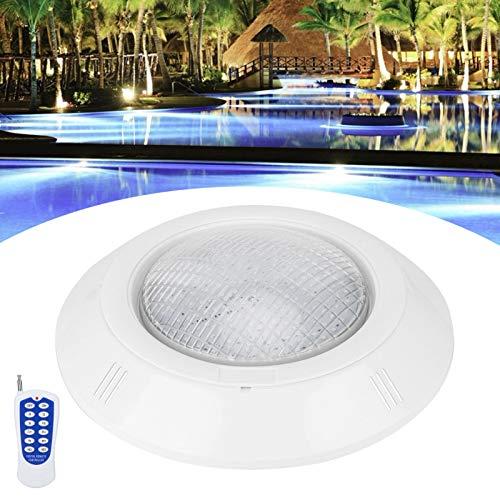 Asixxsix Lámpara subacuática, IP68 Lámpara de Piscina Impermeable, para Piscinas Iluminación de jardín Iluminación de Paisaje Fuentes públicas