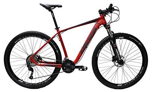 Bicicleta Aro 29 Elleven Reactor 27 Marchas Shimano Altus (Vermelho Fosco, 19)