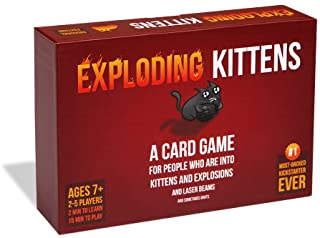 Exploding Kittens - A Russian Roulette Card Game, Easy...