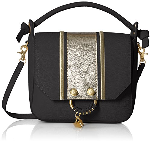 Foley + Corinna Flowerbed Creek Top Handle Cross Body, Black