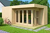 Allwood Arlanda XL | 227 SQF Studio Cabin Garden House Kit