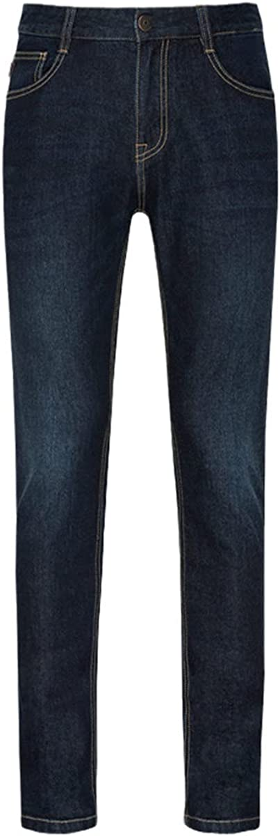 Jeans Men's Spring and Autumn Korean Version of Pure Cotton Slim Pencil Pants Retro Youth Soft Cotton Casual Jeans