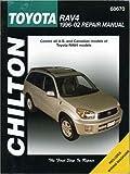 Chilton's Toyota Rav4 1996-02 Repair Manual (Chilton's Total Car Care Repair Manual)