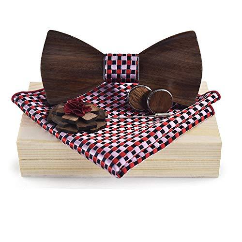 Vestido clásico de negocios corbatas de lazo De los hombres de las...