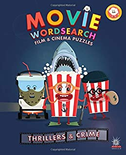 Movie Wordsearch Film & Cinema Puzzles - Thrillers & Crime (Popcorn Movie Wordsearch)