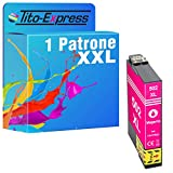 Tito-Express Cartucho de tinta ProSerie 1 compatible con Epson 502XL 502 XL con 14 ml de color magenta XXL Expression Home XP-5100 XP-5105 XP-5115 WF-2860 DWF WF-2865 DWF