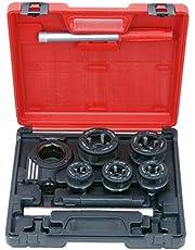 KS Tools 903.3300 gängknippssats 3/8 tum–1,1/4 tum, 8 delar.